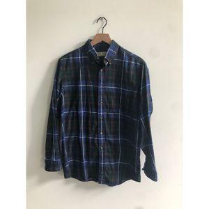 Vintage LL Bean Flannel button down shirt